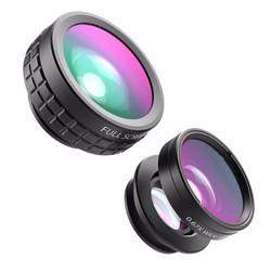 Lens điện thoại Aukey PL-A1 3 in 1 - CHỤP MẮT CÁ, GÓC RỘNG,MARCO