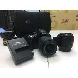 Full bộ Nikon D3100 và Lens Nikkor AF-S 50 1.8G