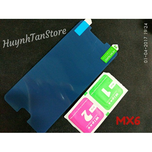 Meizu MX6 - Dán dẻo không full màn chống trầy xướt - 2 cái