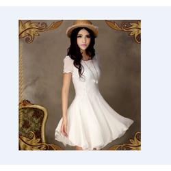 Đầm Voan Trắng Nhẹ Nhàng
