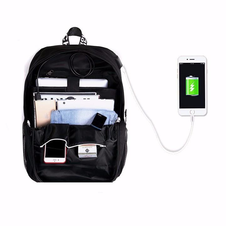 Balo nam thời trang - Tiện lợi có cổng sạc USB nối dài 6