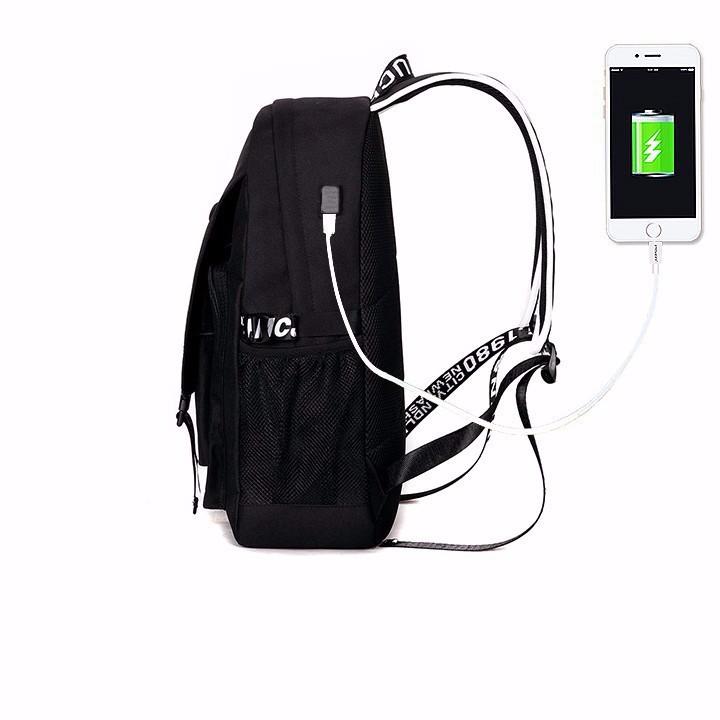 Balo nam thời trang - Tiện lợi có cổng sạc USB nối dài 5