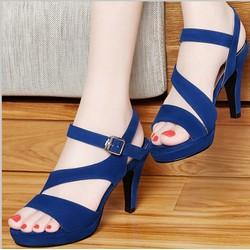 Giày cao gót phong cách trẻ trung cá tính HQ Lady-LDCG662