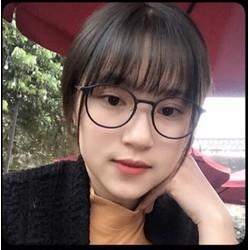 Kính gọng dẻo Hàn quốc - Mắt tròn Teen cực Xinh