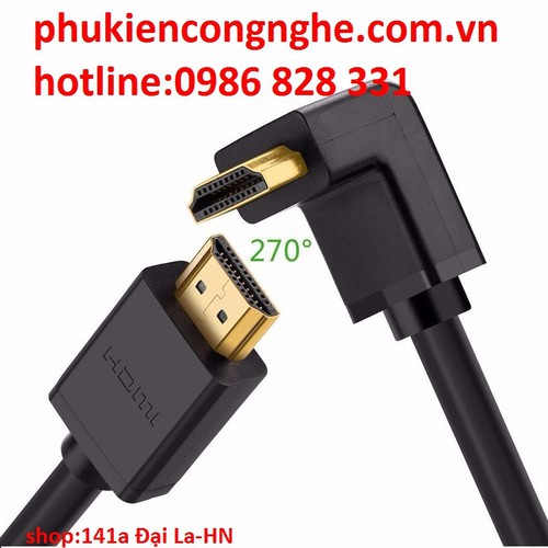 Cáp HDMI dài 3M hỗ trợ 4K, 3D, 1080p chính hãng Ugreen 10122 - 4267373 , 5596531 , 15_5596531 , 200000 , Cap-HDMI-dai-3M-ho-tro-4K-3D-1080p-chinh-hang-Ugreen-10122-15_5596531 , sendo.vn , Cáp HDMI dài 3M hỗ trợ 4K, 3D, 1080p chính hãng Ugreen 10122