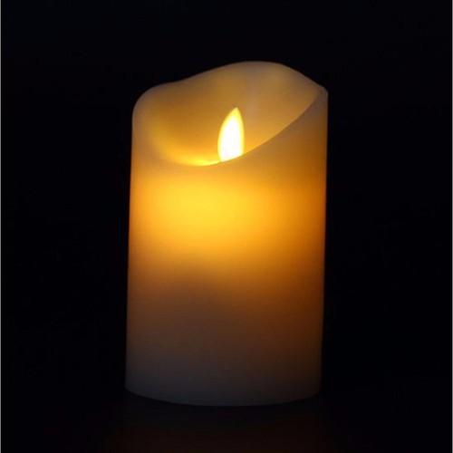 Nến điện tử trang trí đèn Led tiết kiệm pin 5x12.5 cm