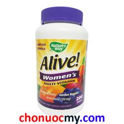 Viên Uống Bổ Sung vitamin Nature Way Alive dành cho phụ nữ