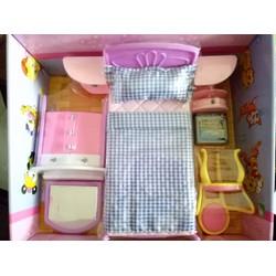 bộ nội thất phòng ngủ cho búp bê