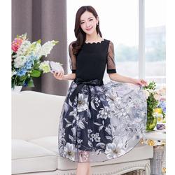 Áo Đầm Rời Phong Cách Hàn