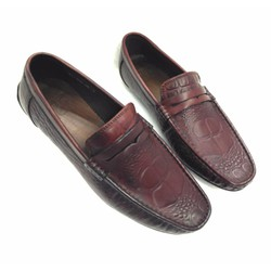 Giày lười da bò thật kiểu dáng thời trang AD333N