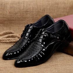Giày tây nam giả da cá sấu , toát lên vẻ sang trọng quý phái  611