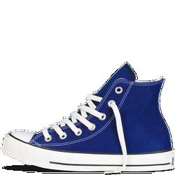 Giày Sneaker Xanh Nhạt Cổ Cao - Nam