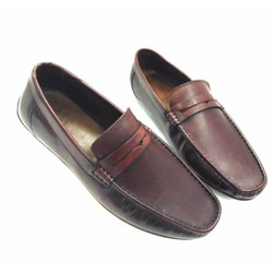 Giày lười da bò thật kiểu dáng thời trang AD333NN