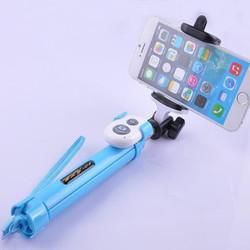 Gậy chụp hình tự sướng bluetooth kim luôn giá đở 3 chân cho điện thoại