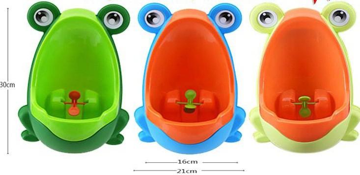 Bô tiểu gắn tường Colorful (ếch con) bán tại Colorful Shop