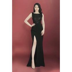 Đầm dạ hội xẻ tà sang trọng, quyến rũ