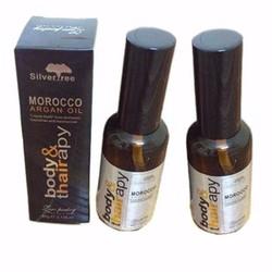 2 chai Tinh Dầu Dưỡng Tóc Morocco Argan Oil - combo2