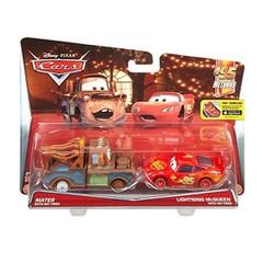 Bộ 2 xe mô hình Disney Pixar Cars Mater with Lightning McQueen