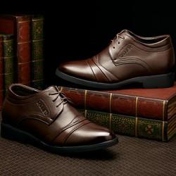 Giày tây nam thiết kế nhiều lớp , sang trọng và thanh lịch 608