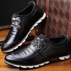 Giày thời trang nam đế cao su , da cao cấp , dễ dàng phối đồ 604