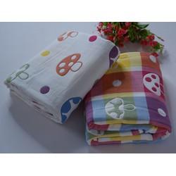 Khăn tắm xô 6 lớp xuất nhật,mềm mịn, cotton thấm hút tốt,mau khô