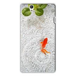 Ốp lưng điện thoại Sony Xperia C4-cá koi 01