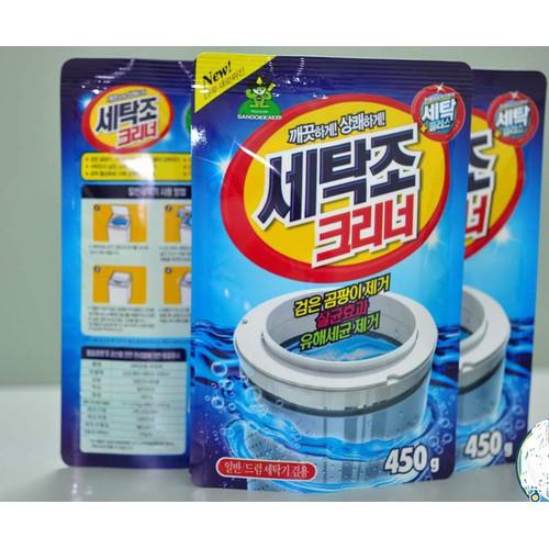 Bột tẩy vệ sinh lồng máy giặt Hàn Quốc - 4272841 , 5619443 , 15_5619443 , 64000 , Bot-tay-ve-sinh-long-may-giat-Han-Quoc-15_5619443 , sendo.vn , Bột tẩy vệ sinh lồng máy giặt Hàn Quốc