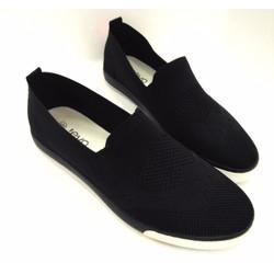 Giày lười vải cao cấp trẻ trung năng động AD121D