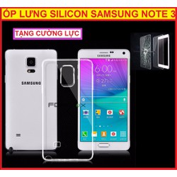 ỐP LƯNG SILICON NOTE 3