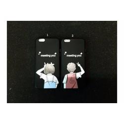 Ốp lưng iPhone 6-6s dẻo hình Cặp đôi