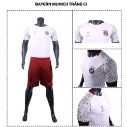 Bộ Đồ đá banh Bayern Munich C1 Trắng