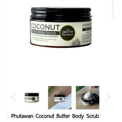 Scrub Coconut Phutawan - Tẩy tế bào chết Bơ Dừa
