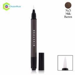 Bút dạ kẻ mắt Beauskin Push Up Eyeliner 1.3g No.03 Brown MPA011-M0034