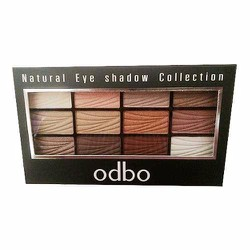 Phấn mắt 12 màu Odbo Natural Eye Shadow Collection MS01
