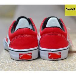 Giày thể thao nữ Van-s đỏ