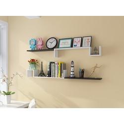 Kệ gỗ trang trí treo tường phòng khách ALO1041