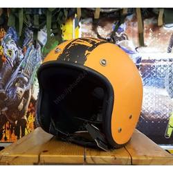 Mũ bảo hiểm Andes 111 - Cam