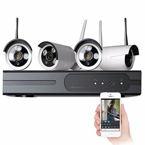 Trọn bộ 4 camera wifi HD siêu nét