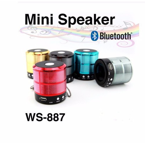Loa Bluetooth Thẻ Nhớ USB WS887
