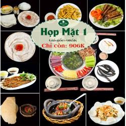 HN- Đặc sản lẩu mắm miền Tây, Bánh tráng Trảng Bàng tại NH Phương Nam