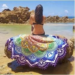 Khăn tròn Mandala du lịch