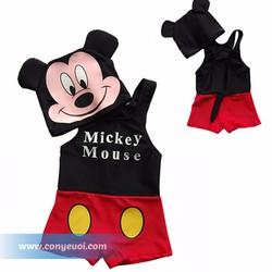 Đồ bơi cho bé liền quần hình Mickey Mouse