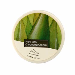 Kem tẩy trang TheFace Shop Aloe Herb Day Cleansing Cream
