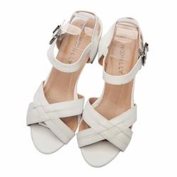 Sandal nữ quai đan chéo xinh xắn