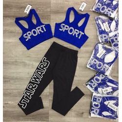Bộ quần áo thể thao nữ