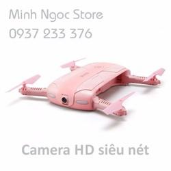 Máy Bay Flycam  Chính Hãng JJRC H37  Pink - Camera HD