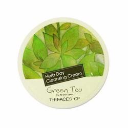 Kem tẩy trang TheFace Shop Green Tea Herb Day Cleansing Cream