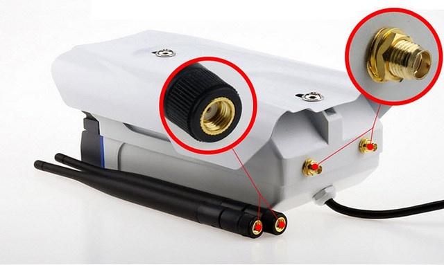 Camera IP Yoosee X5300 không dây wifi ngoài trời hồng ngoại 2