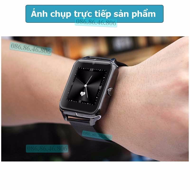 Đồng hồ thông minh Nhật siêu đa năng dây kim loại sang trọng 9