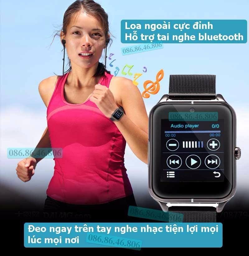 Đồng hồ thông minh Nhật siêu đa năng dây kim loại sang trọng 13